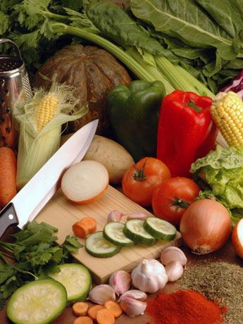 Asado de vegetales