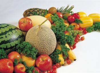 Frutas y verduras para combatir el colesterol