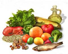 Alimentos para cada tipo de dieta