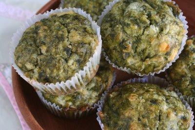 muffins-espinaca