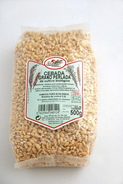 ¿Qué es la cebada perlada?