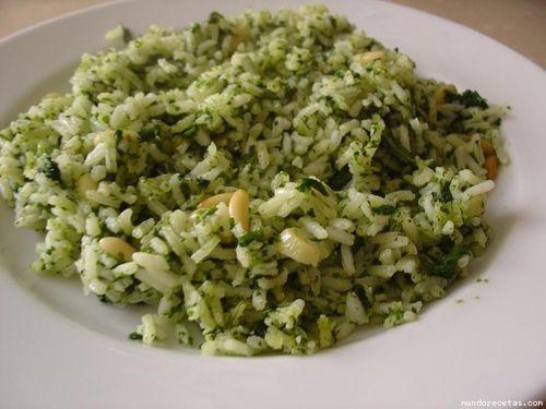 arroz espinacas. jpg []