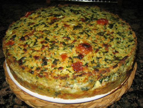 Tortilla de arroz light