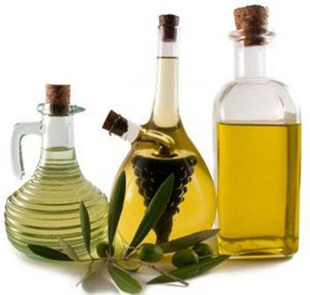 Tipos de aceite en la cocina