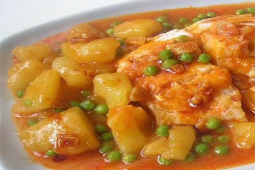 Cazuela de merluza comida sana for Cocinar filetes de merluza