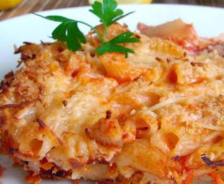 Macarrones gratinados con tomates comida sana - Macarrones con verduras al horno ...