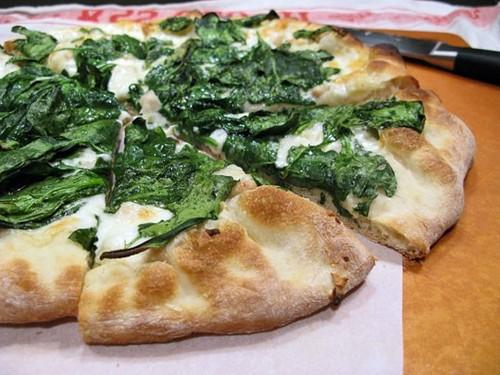 pizza vegetariana para celíacos