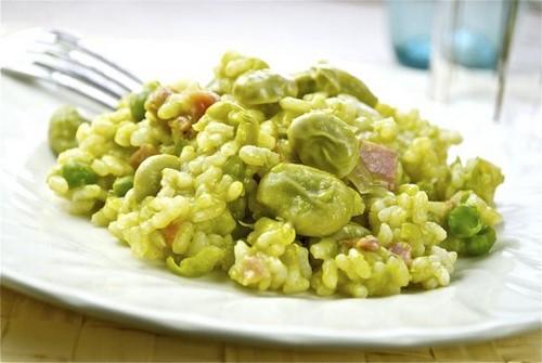 Risotto de habas comida sana for Comidas faciles de cocinar