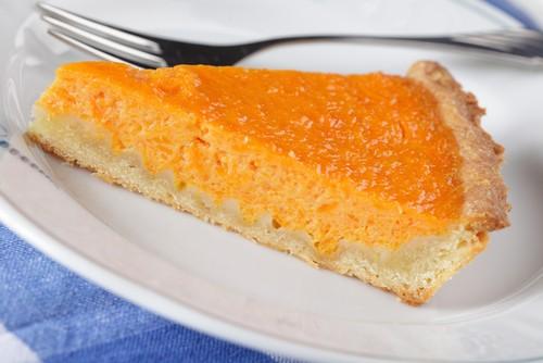 tarta salada de calabaza