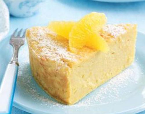 pastel de naranjas y almendras