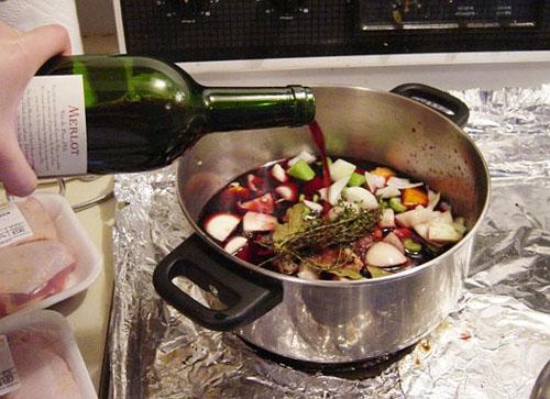 cocinar con vino una buena opci n comida sana