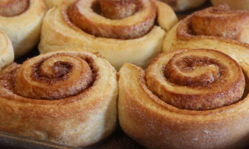 Rollos de canela, un clásico de la pastelería
